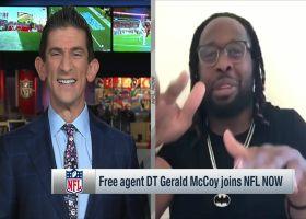 Free agent DT Gerald McCoy joins 'NFL NOW'