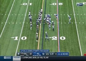 Ravens D puts pressure on Rivers for turnover on downs