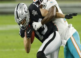 Renfrow shows unreal balance on season-long 32-yard punt return