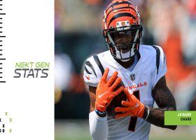 Bengals' top three plays from Week 1 | Next Gen Stats