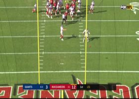 Dexter Lawrence makes early impact by blocking Bucs' PAT