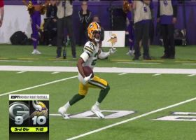 Kevin King rips off massive return after acrobatic INT