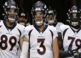 Palmer: Broncos have 'no desire' to move on from Drew Lock after Bridgewater decision