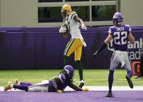 Can't-Miss Play: Rodgers works sideline magic on epic TD toss to Adams