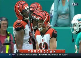 Dalton dissects Dolphins' D on fourth-down TD dart to Boyd