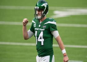 Darnold secures Jets' first win with clutch third-and-6 throw to Gore