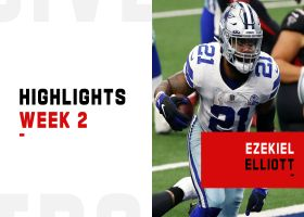 Ezekiel Elliott's best plays from 89-yard game | Week 2