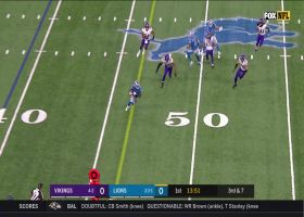 Matthew Stafford finds J.D. McKissic for 22-yard catch and run
