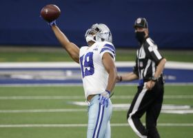 Can't-Miss Play: Cooper hauls in sensational one-hand grab on 58-YARD bomb