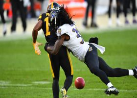 Ray-Ray McCloud's muffed punt leads to 58-yard change in field position