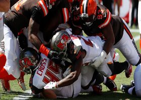 Trevon Coley stuffs Bucs' offense for safety