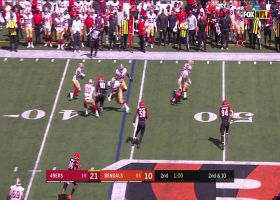 49ers' slick trick play results in 16-yard gain