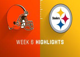 Browns vs. Steelers highlights   Week 6