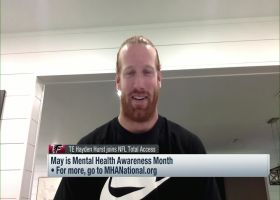 Hayden Hurst opens up on his struggles with mental health as an NFL athlete