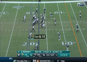Dion Jordan commits key roughing-the-passer penalty to move Jags down field