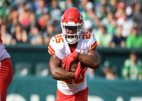 Rapoport: Edwards-Helaire's MCL sprain will sideline RB two to three weeks