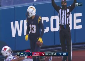 Keenan Allen twists for two-point grab in corner of the end zone