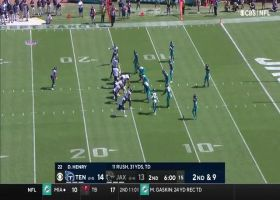 Ryan Tannehill pinpoints MyCole Pruitt for 14-yard TD