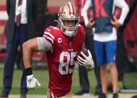 Pelissero: George Kittle officially ruled out for Week 3