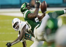Can't-Miss Play: Marcus Maye pins ball to back to secure big INT