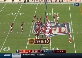 Antonio Gibson takes toss play for 16-yard trot