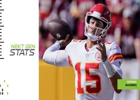 Next Gen Stats: Patrick Mahomes' 4 most improbable completions | Week 6