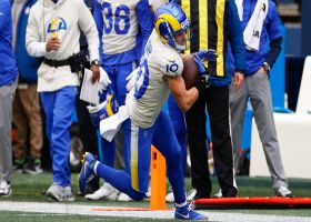 Kupp goes up, over Jamal Adams for terrific sideline grab