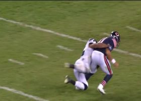 Mychal Kendricks flies in for first sack as a Seahawk
