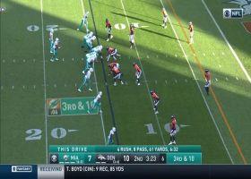 Broncos engulf Tua Tagovailoa for third-down sack