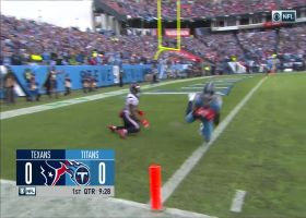 Kenny Vaccaro ends Texans' opening drive with end-zone INT