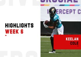 Every catch from Keelan Cole's 143-yard game | Week 6