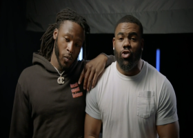 Next Generations: Alvin Kamara, Mark Ingram reunite to break down game film