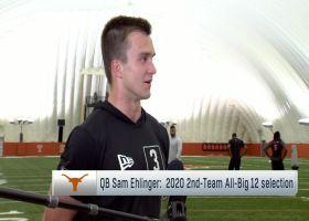 Sam Ehlinger evaluates his Texas pro day performance