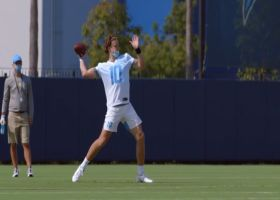 'Hard Knocks': Justin Herbert wows coaches in accuracy drill