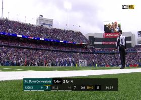 Bills' D smothers Eagles' trick play