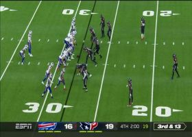 Bills lose 36 yards in span of two plays at key time