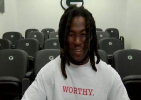 Jamaal Williams explains his unique relationship with Aaron Jones
