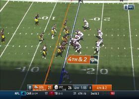 Edmunds ends Broncos' hope of comeback on fourth-down sack