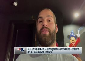 Lawrence Guy discusses Pats' All-Decade Team of 2010s