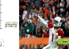 Next Gen Stats: Kyler Murray's 3 most improbable completions | Week 6