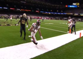 Mike Evans' first grab is spectacular toe-tapping TD