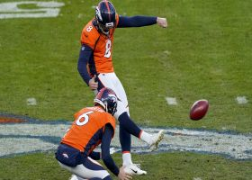 Brandon McManus splits uprights on 58-yard moonshot field goal