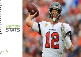 Next Gen Stats: Tom Brady's 3 most improbable completions | Week 7