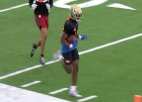 Demetric Felton's sweet route wows D.J., Bucky at Senior Bowl practice
