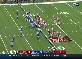 Kyler Murray returns for third-and-15 strike to Trent Sherfield