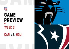 Panthers vs. Texans preview   Week 3