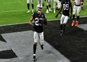 Devontae Booker punches in Raiders' third rushing TD of the game