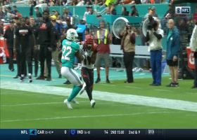 Dalton finds John Ross on the over-the-shoulder grab for 34 yards