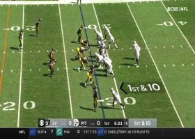 T.J. Watt forces strip-sack for second-straight week