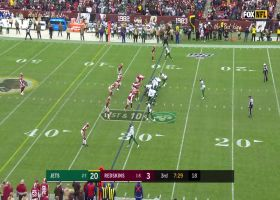 Darnold finds Ryan Griffin on the bootleg for 26-yard gain